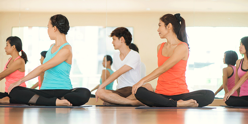Live Well Yoga Classes