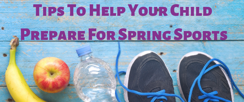 Tips To Help Your Child Prepare For Spring Sports by Live Well Chiropractic