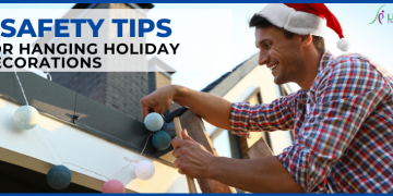 8 Safety Tips For Hanging Holiday Decorations Without Injury
