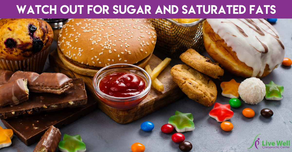Watch Out For Sugar And Saturated Fats
